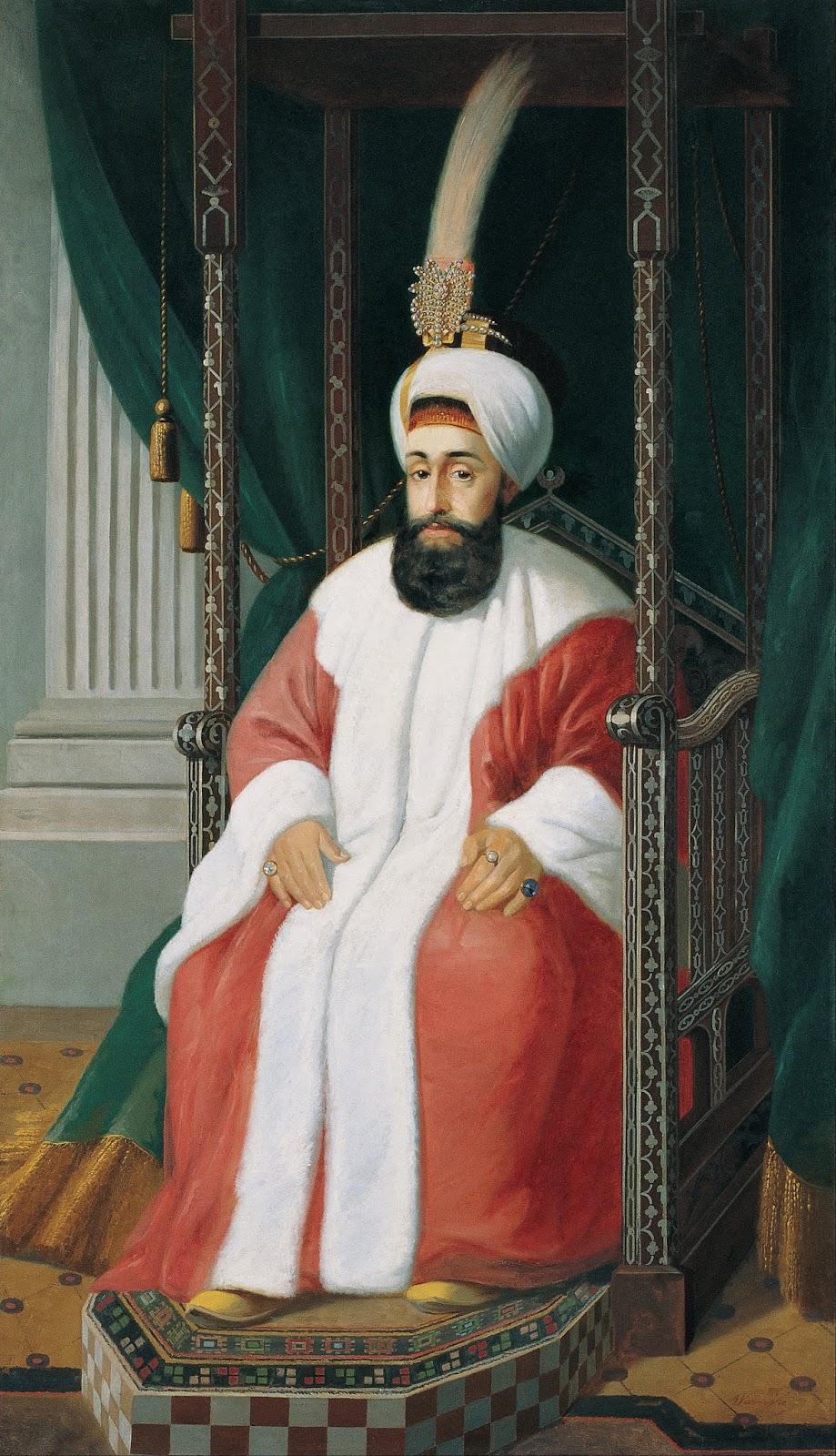Gazi Halife, Sultan III. Selim,Selīm-i sālis Han, سليم ثالث