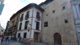 Palacio de la Rúa de Oviedo.