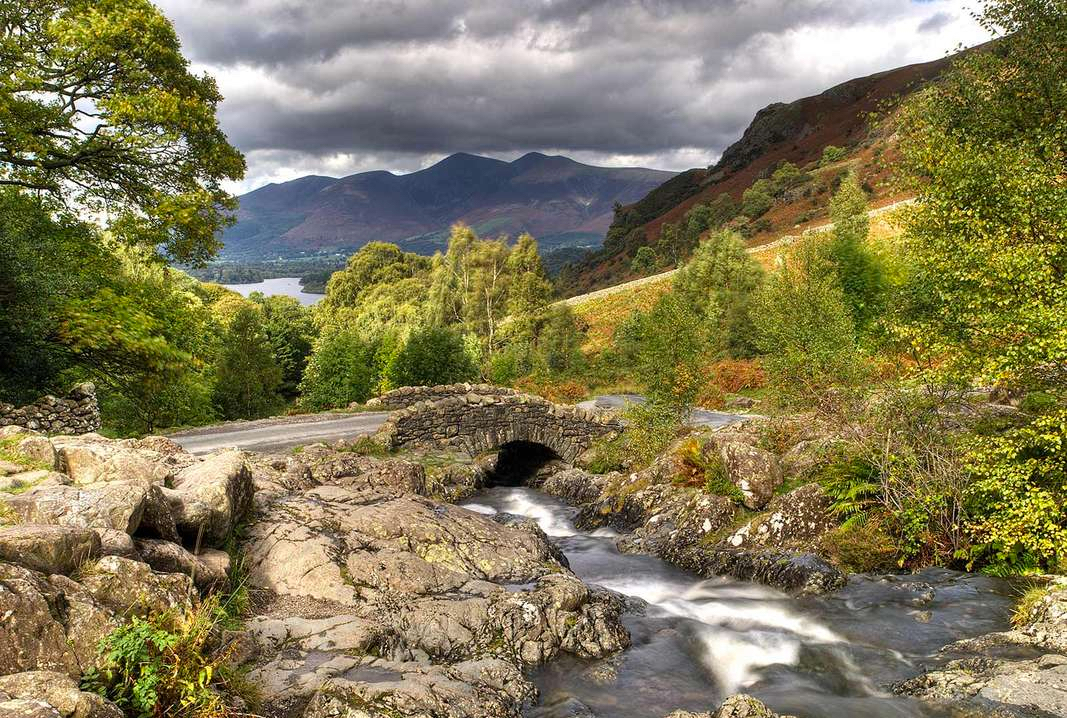 The stunning Ashness Bridge, Lake District