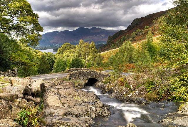 The stunning Ashness Bridge, Lake District