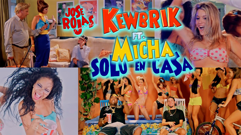 Kewbrik y El Micha - ¨Solo en Casa¨ - Videoclip - Dirección: Jose Rojas. Portal del Vídeo Clip Cubano