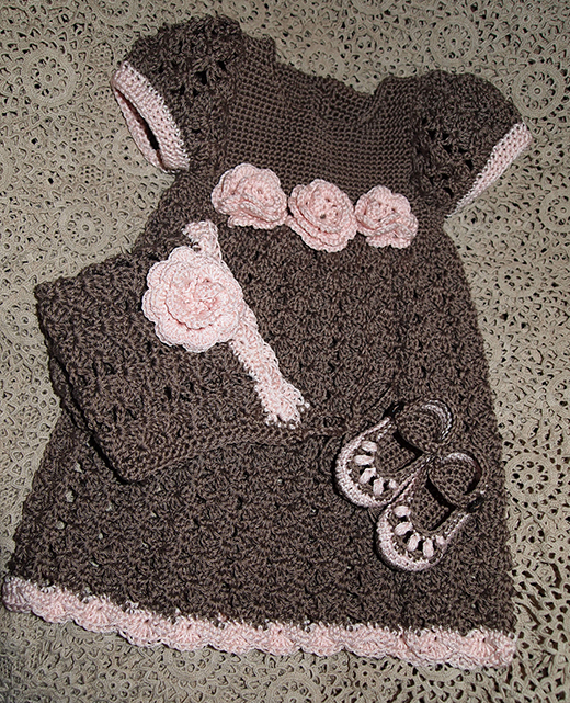 Little Cherub Set Free Crochet Pattern