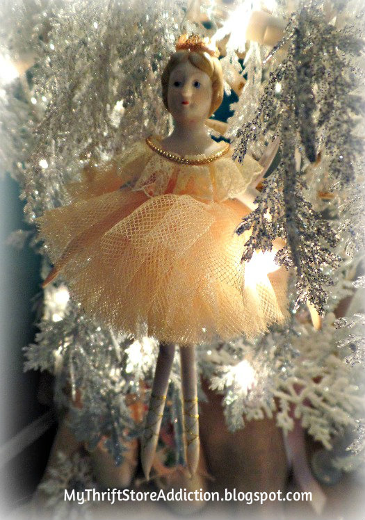 Sugar Plum Fairy Christmas ornament