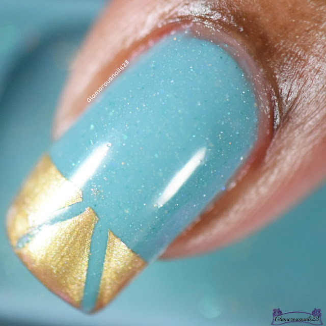 Teal & Gold