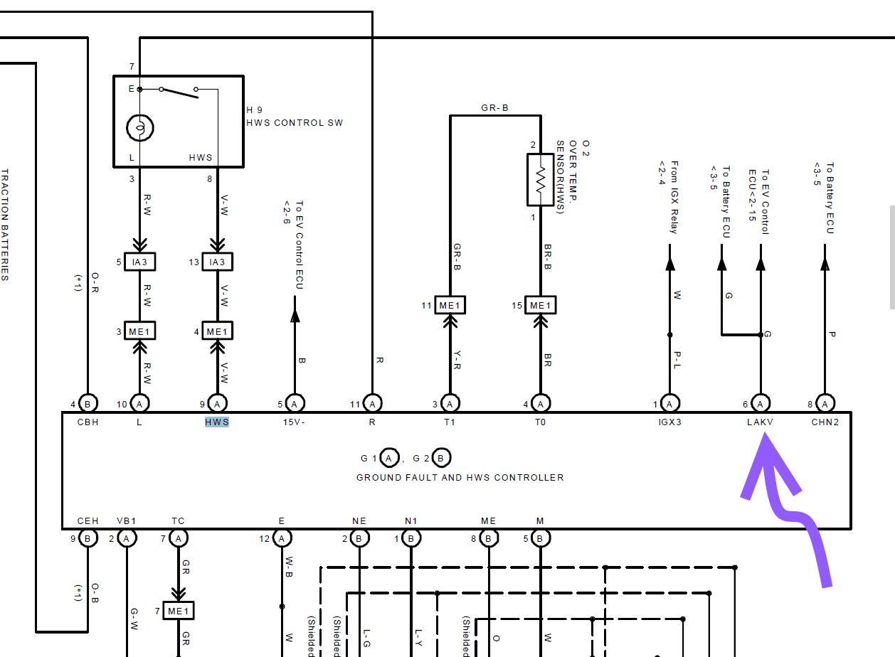 Hack the ground fault ECU on a Toyota RAV4 EV   EVMonitor