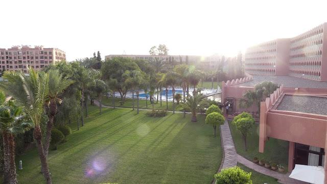 Hotel Atlas Asni, Marrakesch - Garten mit Pool