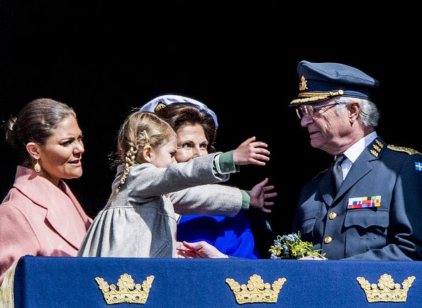 Crown Princess wore MaxMara Wool and Angora Coat. Queen Silvia, Princess Estelle, Prince Oscar, Princess Sofia, Princess Madeleine
