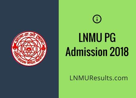 LNMU Part 2 Result 2018