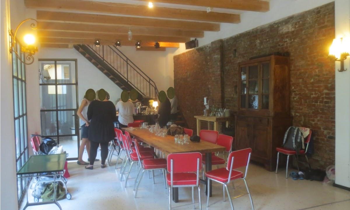 Foodbloggertreffen in Hamburg - Loft innen