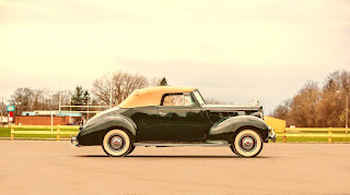 1938 Packard Six Luxury Convertible Side Right
