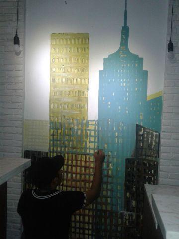 Lukisan Dinding  Lukisan Tembok yang Kreatif
