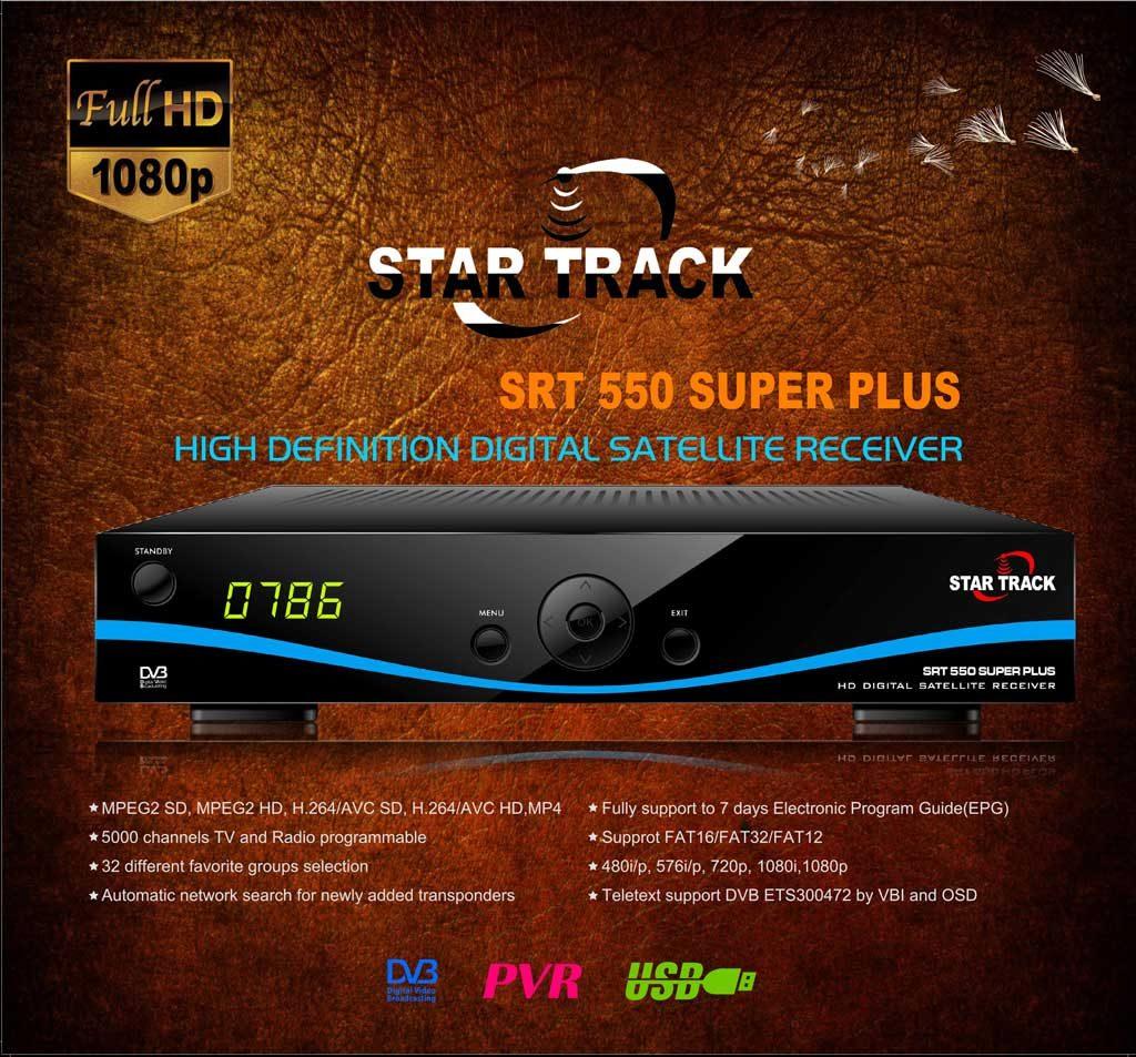 Star Track SRT-550 SUPER PLUS Receiver Software, Tools - Mr-Dish