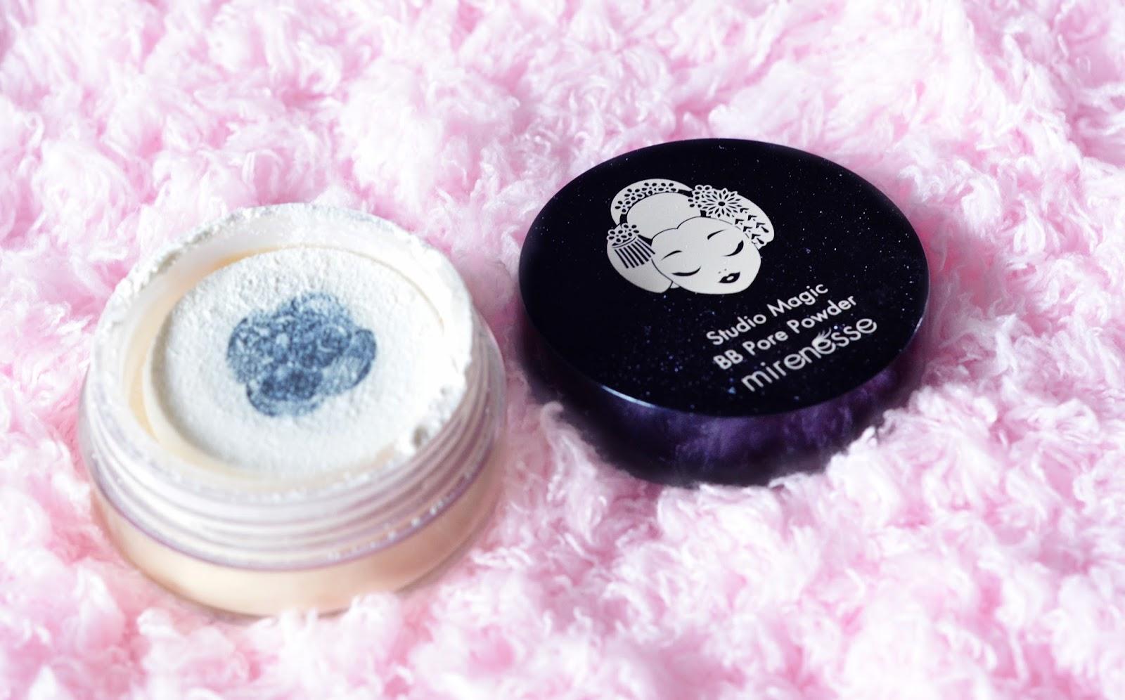 mirenesse studio magic bb pore powder