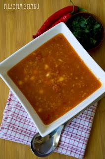(zupa z soczewicy i ciecierzycy