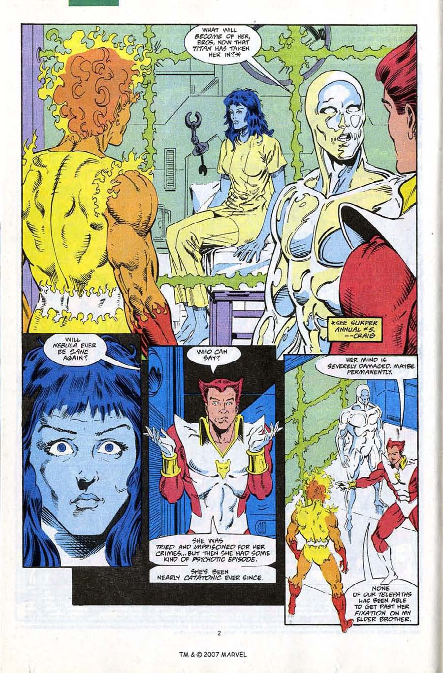 Read online Silver Surfer (1987) comic -  Issue #67 - 4