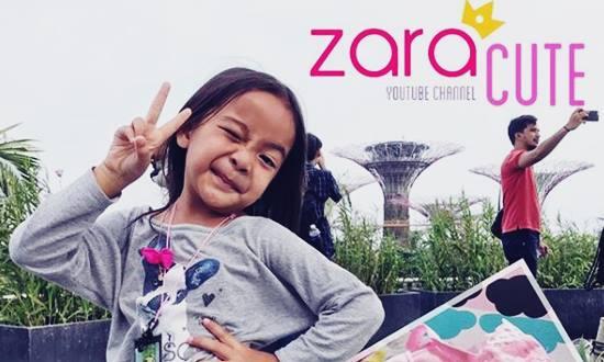 Biodata Zara Nugroho Si Youtuber Anak Zara Cute Putri Pebulu Tangkis Nasional - www.heru.my.id