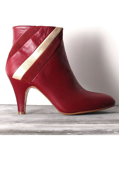 Boots Patricia Blanchet : Odette Bordeaux