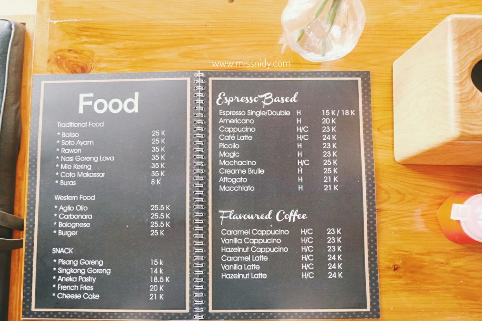 harga kopi di pikot kopi cibubur