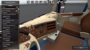 Scania RJL interior mod by Honza_CZ