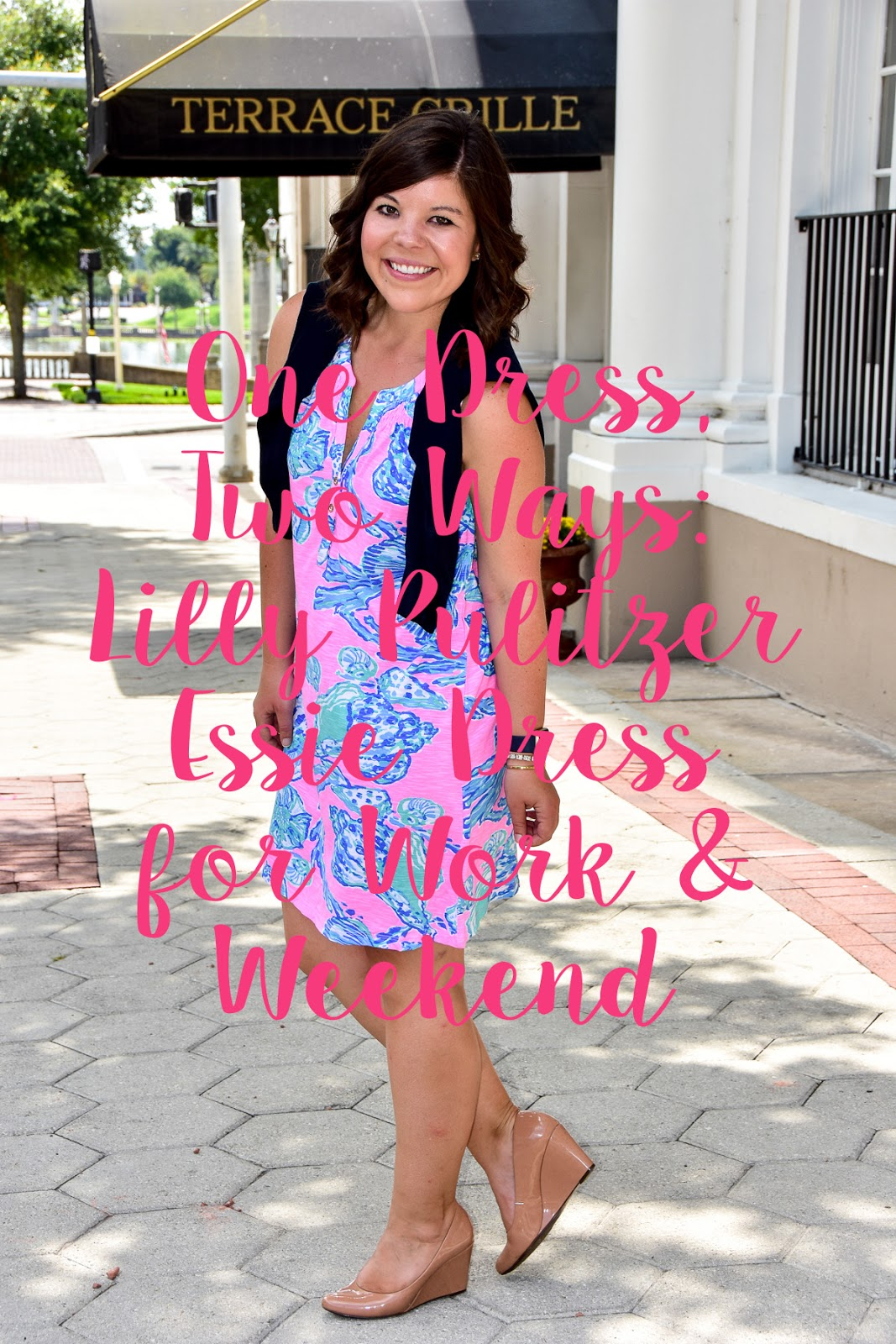 One Dress: Two Ways – Lilly Pulitzer Essie Dress