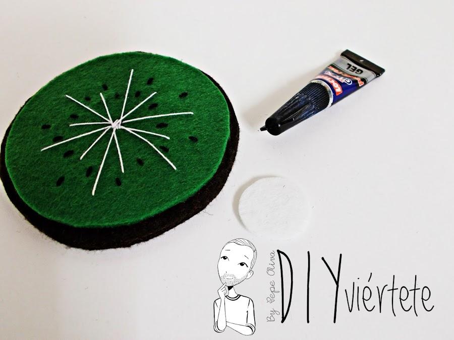 BLOGERSANDO-frutas-DIY-fieltro-kiwi-posavasos-manualidades-5