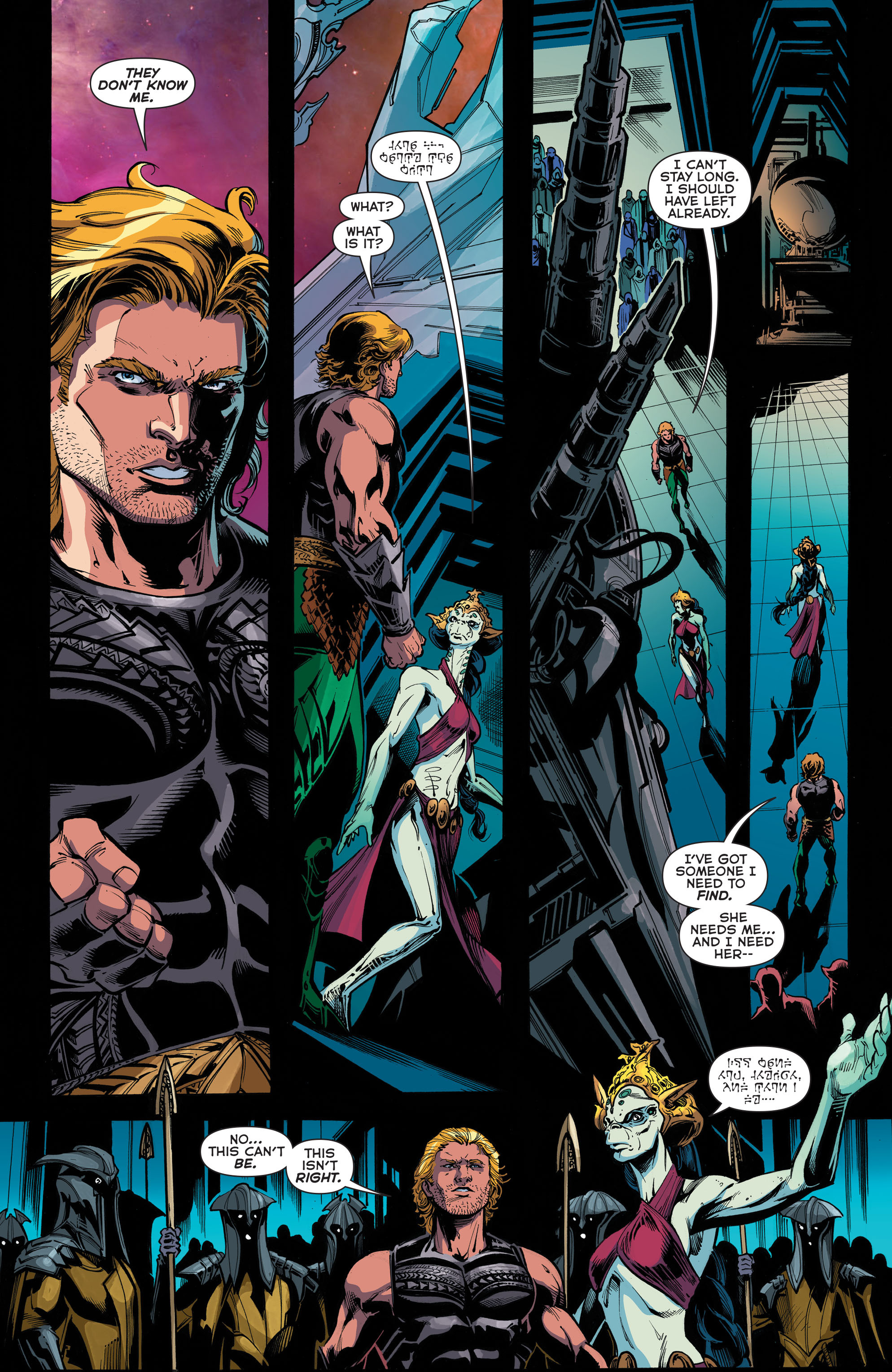 Read online Aquaman (2011) comic -  Issue #45 - 20