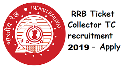 RRB Chennai 2019 - 2020 TC Recruitment