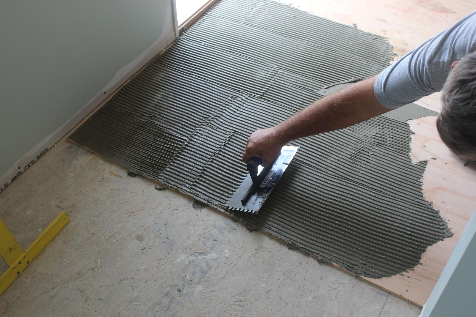 Avente Tile Talk: Installing a slate tile floor