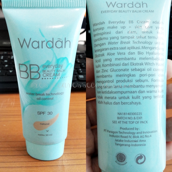 Review : Everyday BB Cream Wardah | resseca.blogspot.com