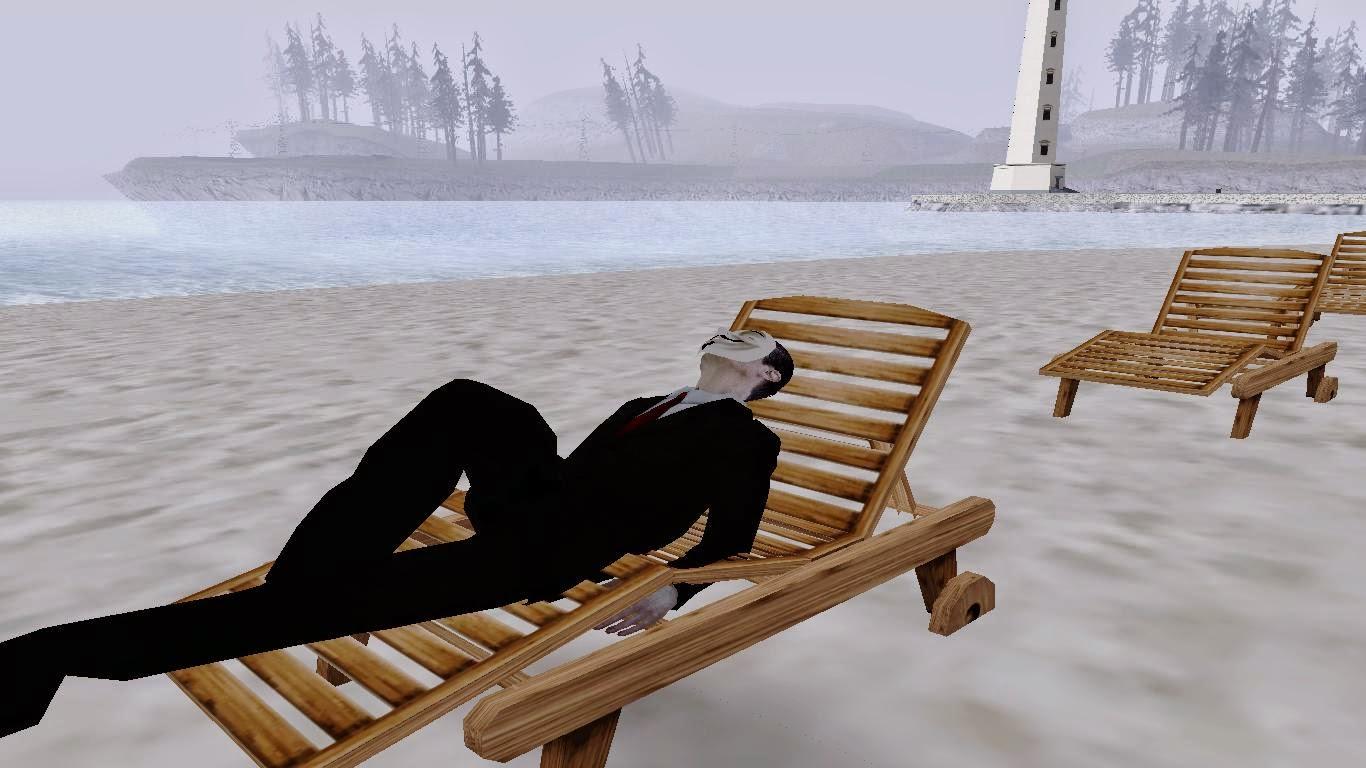 Mod Berjemur (Sunbathing) Gta San Andreas