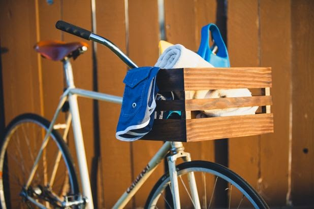 How to Build a Wood Bike Basket - Super Awesome
