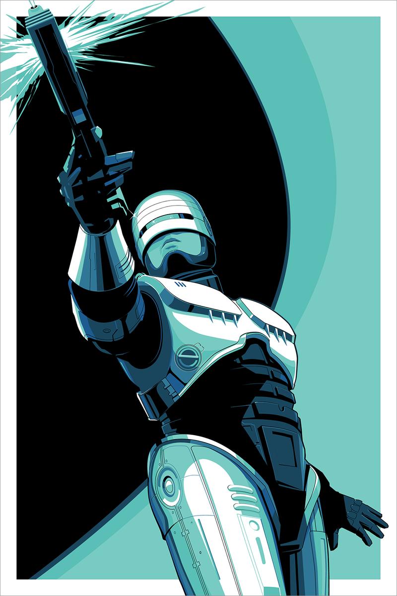 Ausdrucksvoll Robocop Vs The Terminator Future Robocop Neca Ultimate Action Figure