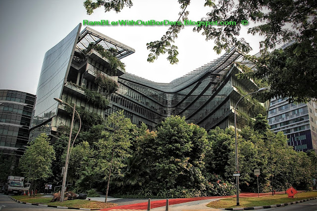 Sandcrawler Building, One-North, Singapore