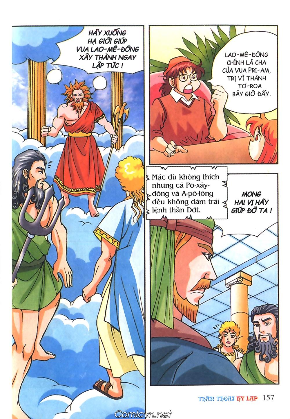 Thần Thoại Hy Lạp Màu - Chapter 56: Hai vị tướng và hai mỹ nữ - Pic 10