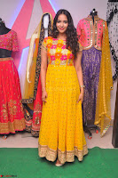 Pujitha in Yellow Ethnic Salawr Suit Stunning Beauty Darshakudu Movie actress Pujitha at a saree store Launch ~ Celebrities Galleries 037.jpg