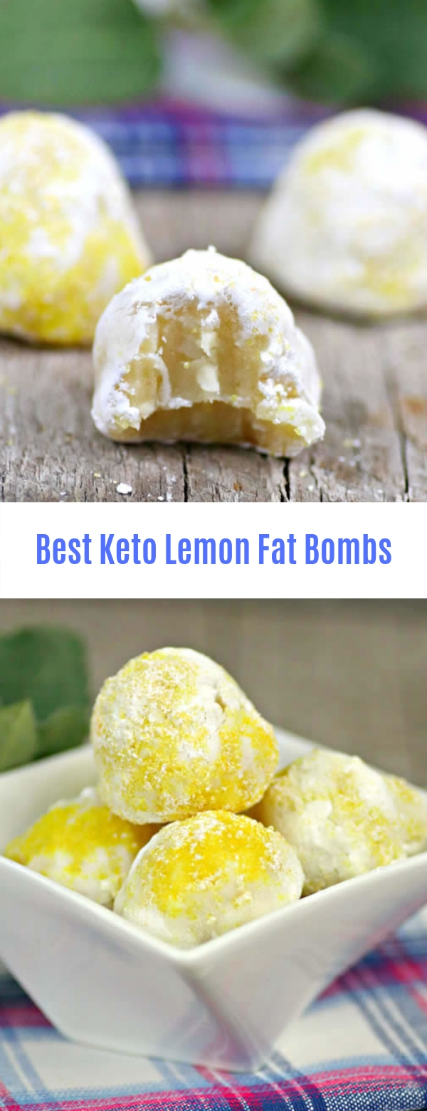 Best Keto Lemon Fat Bombs