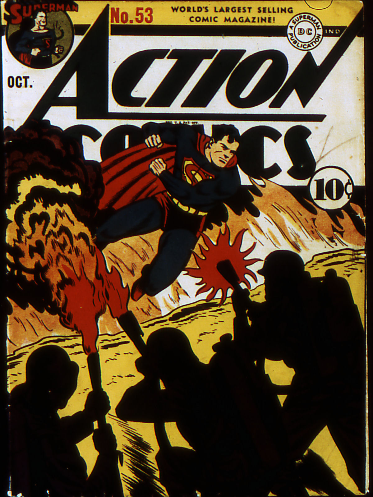 Read online Action Comics (1938) comic -  Issue #53 - 1