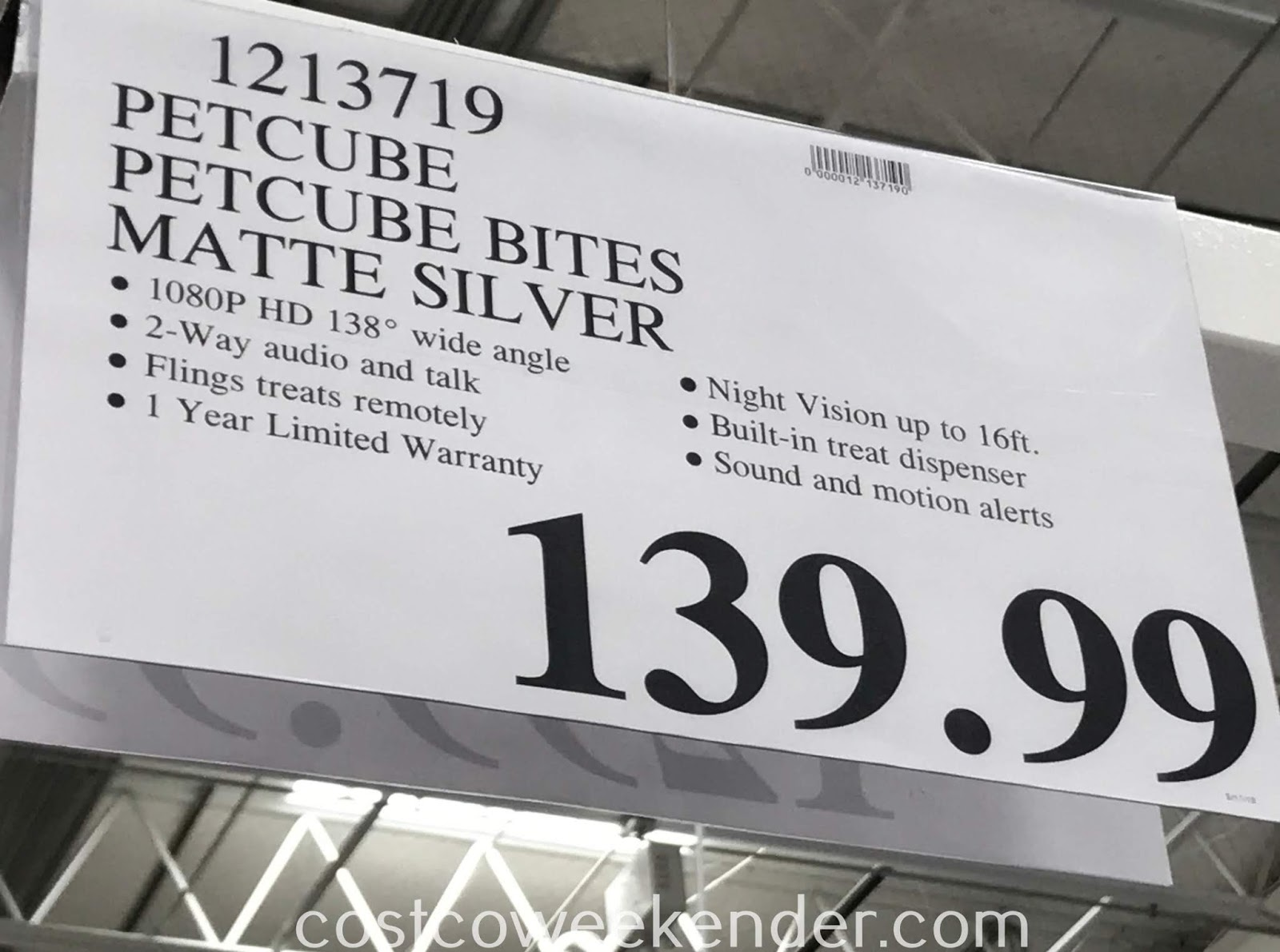 Deal for  Petcube Bites at Costco
