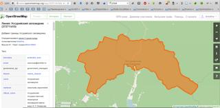 Уссурийский заповедник на OpenStreetMap