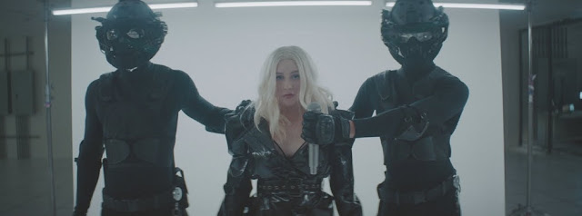 "Christina Aguilera Unveils ""Fall In Line"" Video ft. Demi Lovato"