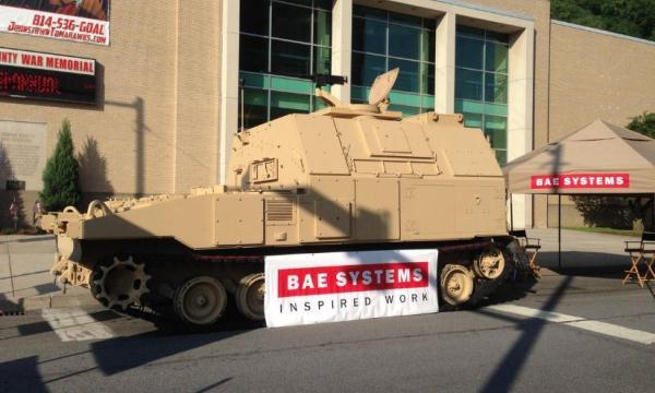 Kendaraan dukungan amunisi M992A3