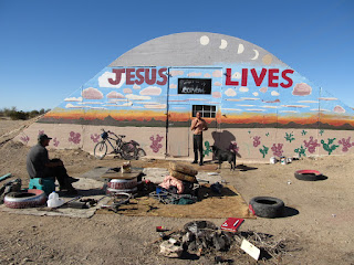 Residentes de Slab City
