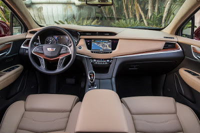 Interior Cadillac XT5