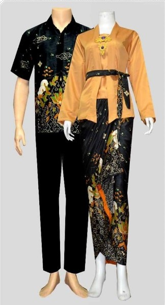 Model Baju Kebaya Batik Couple