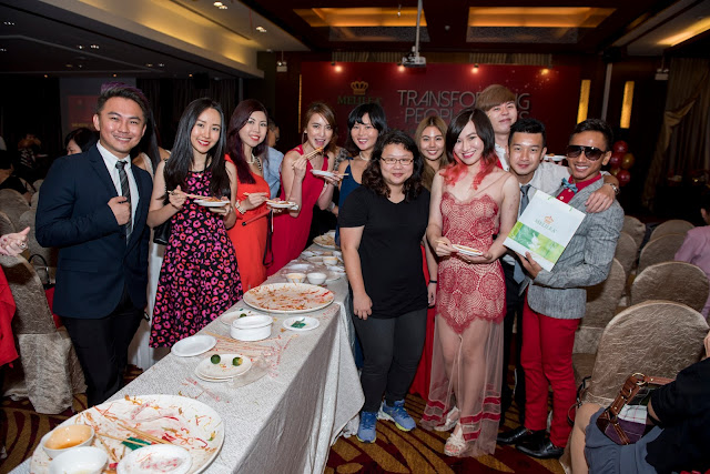 Melilea Annual Party 2016 - Lo Hei with Singapore Bloggers