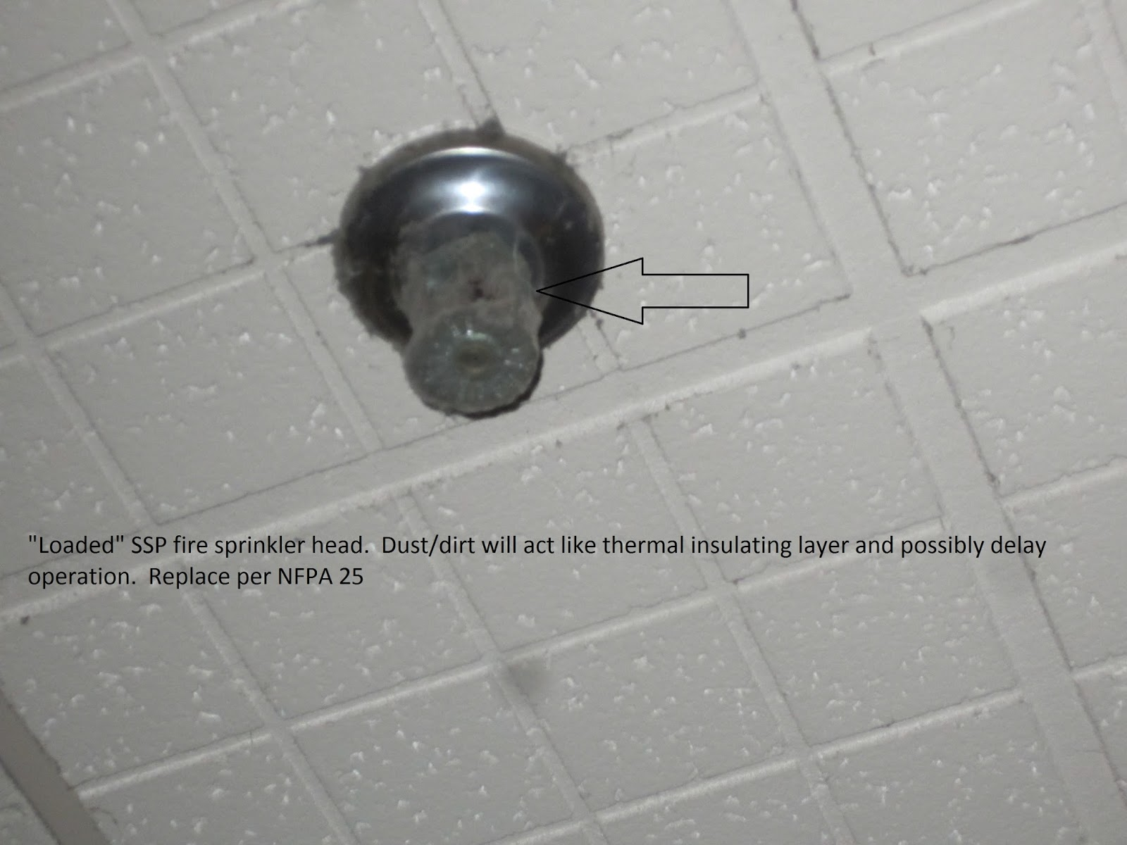Fire Protection Deficiencies: Loaded Fire Sprinkler Heads