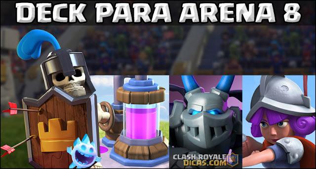 Deck para Arena Pico Congelado (Arena 8) - 1