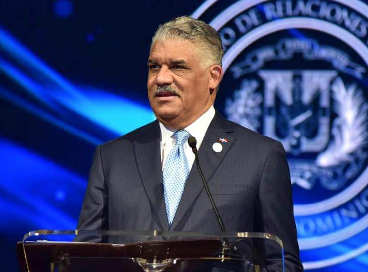 Miguel Vargas Maldonado, ministro de Relaciones Exteriores