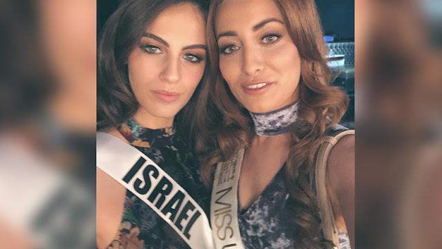 Miss Irak y Miss Israel se hacen un selfi de paz y desatan una guerra en las redes