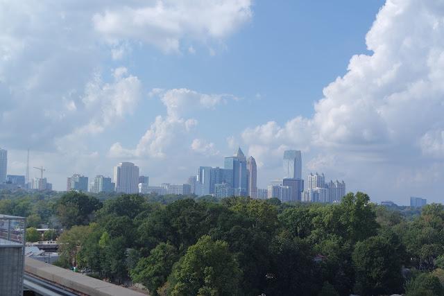 Atlanta Georgia Travel Walking Dead Skyline